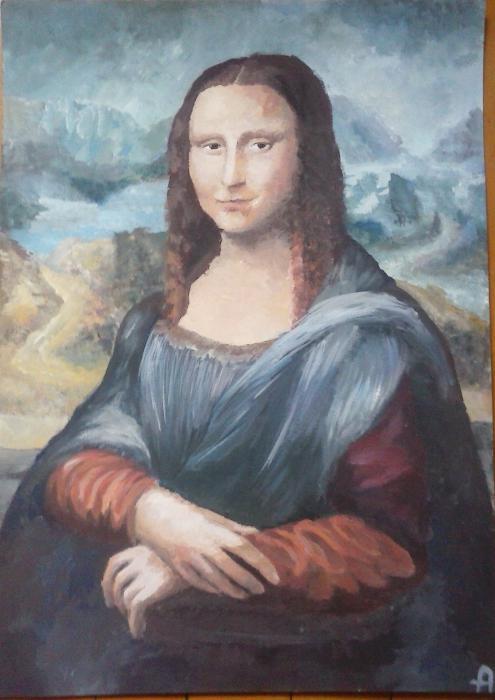 Mona Lisa por minka-impro